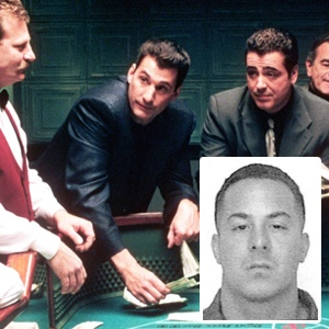 "ROLLED: Katosh Pantoliano (inset) robbed games like those ""Sopranos"