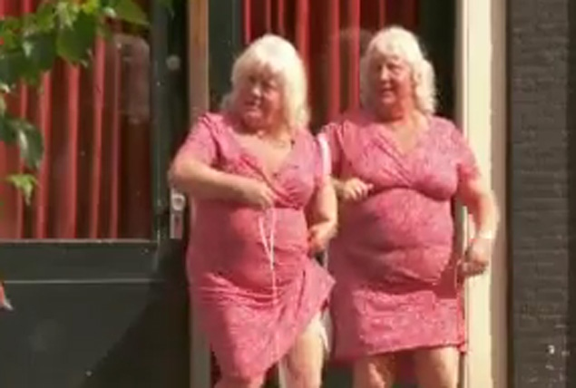 Meet The Fokkens! Twin Prostitutes In Amsterdam