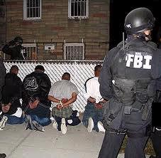 Suspected MS-13 . gangsters  arrested by FBI