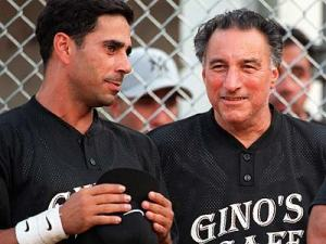 """Mobster Joey  Merlino left) with reputed cosa nostra boss Joseph """"Uncle Joe"""" Ligambi"""