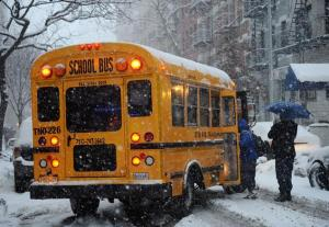 The decision to keep city schools open during the snowstorm Thursday triggered a response from numerous people, including the Mafia.