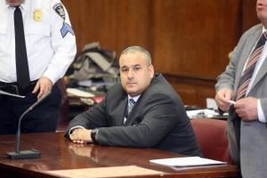 Dominick Dinapoli was convicted of five counts of perjury in June but a judge Wednesday overturned the conviction following botched Waterfront Commission probe
