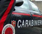 Carabinieri foto generica, auto di pattuglia con paletta ministero della Difesa