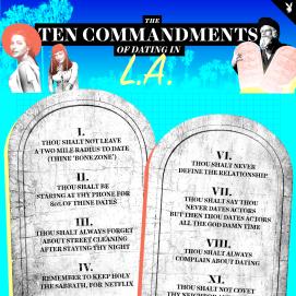 Ten commandments of dating